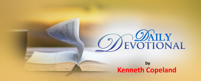 Kenneth Copeland daily devotional