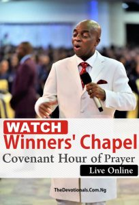 covenant day of prayer live stream