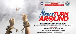 RCCG 2019 Annual Holy Ghost Congress