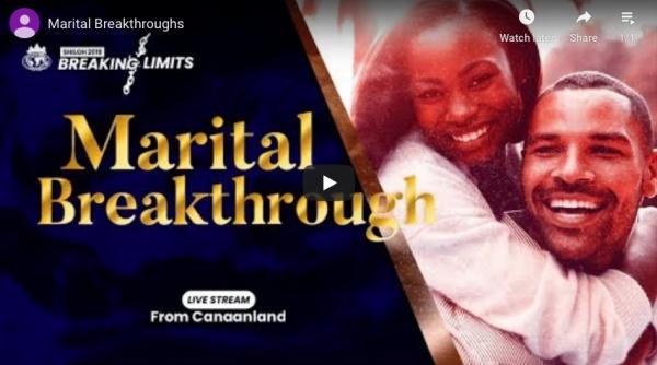 SHILOH 2019 MARITAL BREAKTHROUGH SESSION LIVE BROADCAST
