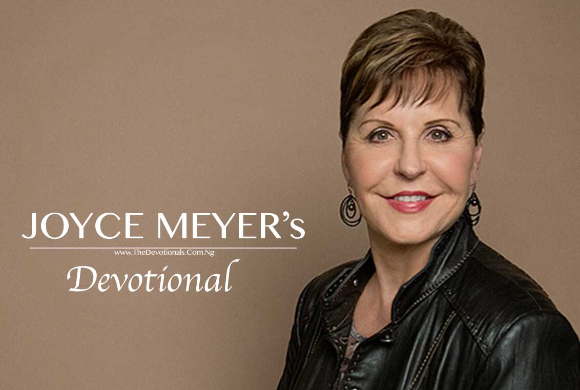 JOYCE MEYERS DEVOTIONAL