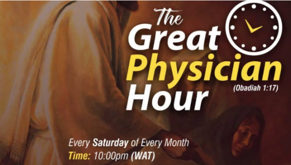 THE GREAT PHYSICIAN HOUR LIVE BROADCAST