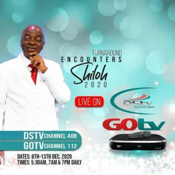 SHILOH 2020 ON DSTV AND GO TV