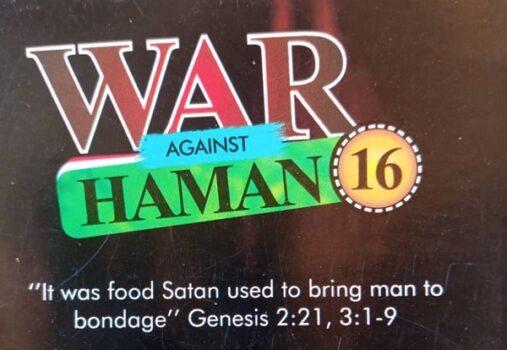 WAR AGAINST HAMMAN