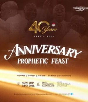 WINNERS 40TH ANNIVERSARY PROPHETIC FEAST